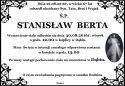 Ś.P. STANISŁAW  BERTA
