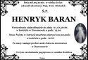 Ś.P. HENRYK BARAN