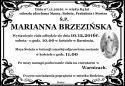 Ś.P. MARIANNA BRZEZIŃSKA