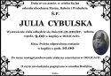 Ś.P.  JULIA  CYBULSKA