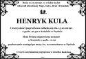 ŚP. HENRYK KULA