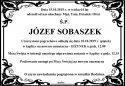 ŚP.  JÓZEF  SOBASZEK