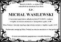 Ś.P. MICHAŁ WASILEWSKI