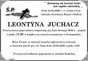 ŚP.  LEONTYNA JUCHACZ